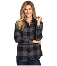Mountain Hardwear Winter Bridger Long Sleeve Tunic Black Women's Long Sleeve Button Up