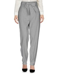 Pedro Del Hierro Casual Pants Light Grey
