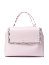 Orciani Chain Detail Tote Pink