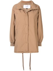 Le Ciel Bleu High Neck Padded Parka 60