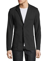 Civil Society Harlin Knit Blazer Black