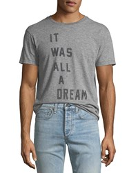 Sol Angeles It Was All A Dream Graphic T Shirt Gray