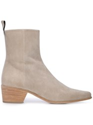 Pierre Hardy Reno Ankle Boots Neutrals