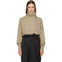 Etoile Isabel Marant Beige Shadow Turtleneck