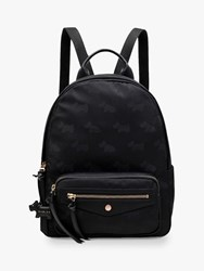 Radley Jacquard Medium Backpack Black