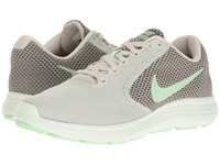 Nike Revolution 3 Light Bone Fresh Mint Midnight Fog Women's Running Shoes Gray
