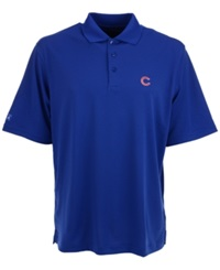 Antigua Men's Short Sleeve Chicago Cubs Polo Royalblue