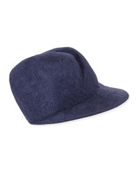 Gigi Burris Esther Felted Cap Navy