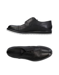 Ermenegildo Zegna Lace Up Shoes Black