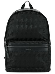 Michael Kors Star Print Backpack Black