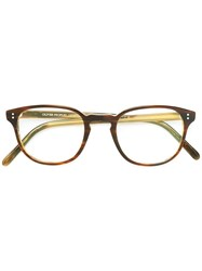 Oliver Peoples Fairmont Glasses Brown