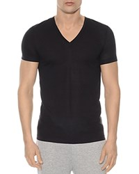 2Xist 2 X Ist Mesh V Neck Shirt Black