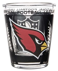 Hunter Manufacturing Arizona Cardinals 3D Collector Glass