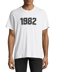 Ovadia And Sons 1982 Graphic T Shirt White
