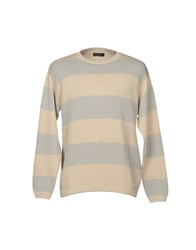 Henry Cotton's Sweaters Ivory