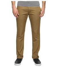Vans Authentic Stretch Chino Pants Dirt Men's Casual Pants Brown