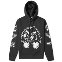 Mcq By Alexander Mcqueen Monster Popover Hoody Black