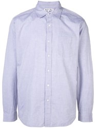 Alex Mill Classic Button Shirt Blue
