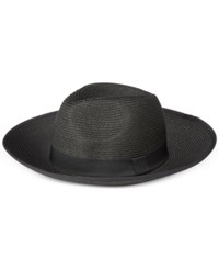 August Hats Beach Days Large Fedora Black