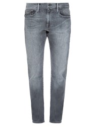 Frame Denim L'homme Straight Leg Jeans Grey