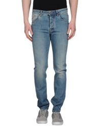 Heavy Project Denim Pants Blue