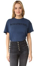 Wildfox Couture Whatever Tee After Midnight Blue