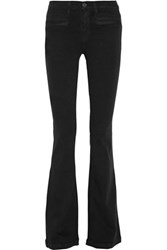 Joie Nouveau High Rise Flared Jeans Black