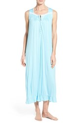 Women's Eileen West 'Aegan Sea' Modal Ballet Nightgown Aqua