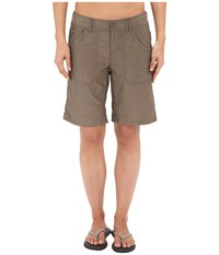 The North Face Horizon 2.0 Roll Up Shorts Weimaraner Brown Women's Shorts