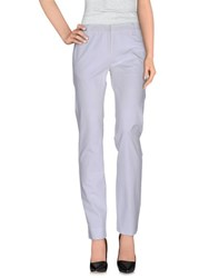 Thinple Trousers Casual Trousers Women White