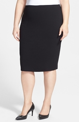 Vince Camuto Midi Tube Skirt Plus Size