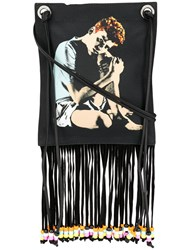 J.W.Anderson Jw Anderson Gilbert And George Print Pouch Black