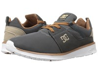 Dc Heathrow Charcoal Grey Skate Shoes Gray