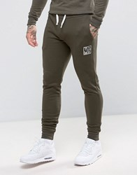Friend Or Faux Kennedy Slim Fit Joggers Green