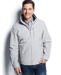 Weatherproof Heritage Golf Open Botton Jacket Silver