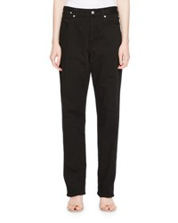 Dries Van Noten Pisco Denim Straight Leg Jeans Black