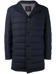 Hugo Boss Quilted Jacket Blue