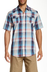 Burnside Plaid Shirt Blue