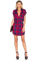 Rails Haley Dress Red