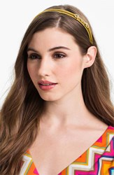 L. Erickson 'Small Bits' Headband Yellow Marigold