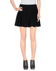 Armani Jeans Skirts Mini Skirts Women Black