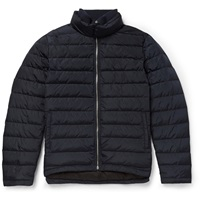 Orlebar Brown Daniel Down Quilted Shell Jacket Blue