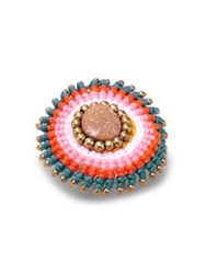 Design Lab Lord And Taylor Multi Color Pinwheel Ring