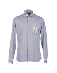 Jonathan Saunders Long Sleeve Shirts Steel Grey