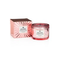 Voluspa Vermeil Boxed Maison Candle Prosecco Rose
