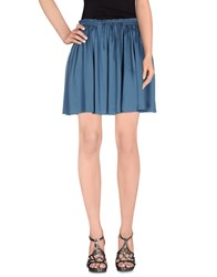 Girl By Band Of Outsiders Skirts Knee Length Skirts Women Slate Blue
