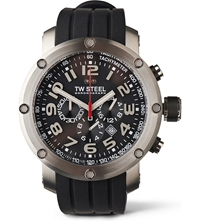 Tw Steel Tw121 Grandeur Tech Chronograph Watch Black