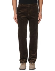 Gold Case By Rocco Fraioli Casual Pants Dark Green