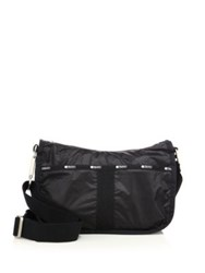 Le Sport Sac Essential Nylon Hobo Bag True Black