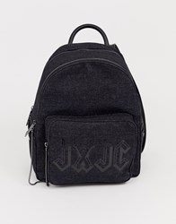 Juicy Couture Aspen Zippy Backpack In Black